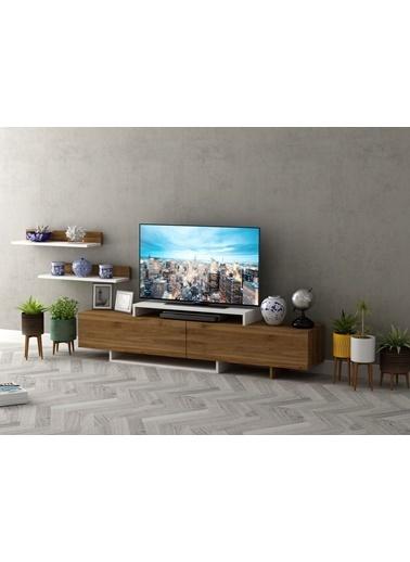 Sanal Mobilya New Moxıe Tv Ünitesi Beyaz